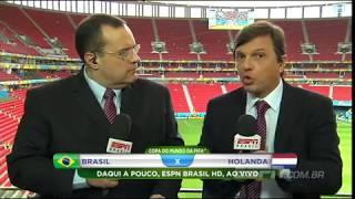 Mauro Cezar Pereira - 12/07/14 - Pré-Jogo - Brasil 0 X 3 Holanda