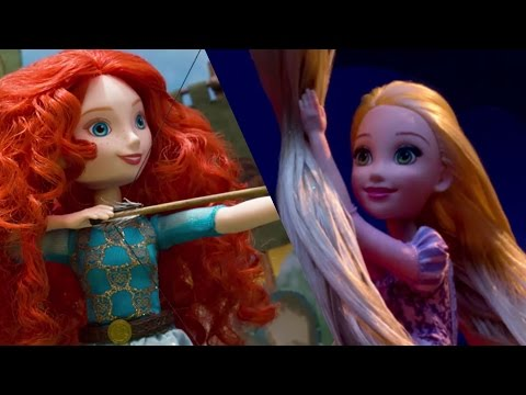 Disney Princess Theater with Royal Shimmer Dolls | Disney Toy Adventures | Disney