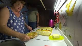 ВЛОГ Попробовав хачапури заказали печку