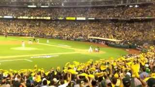 o.co Coliseum Goes Wild in Game 1 of Oakland A