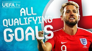 All ENGLAND GOALS on their way to EURO 2020!