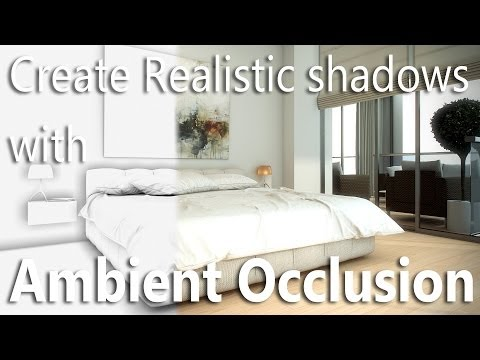 Create Realistic Shadows With Ambient Occlusion