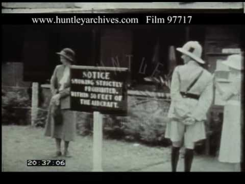 Travel By Plane Across Uganda And Kenya, 1930s - Film 97717
