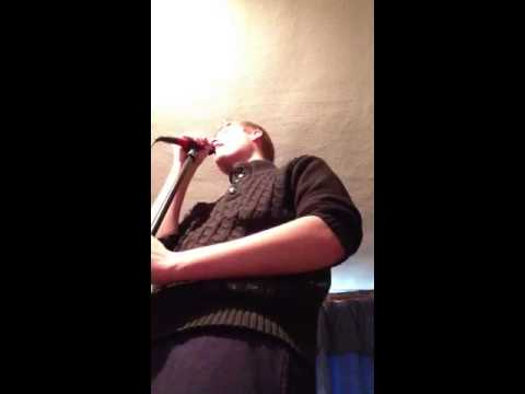 Matt singing A Team by Ed Sheeran