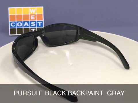 bcb07c870f SUNCLOUD PURSUIT BLACK BACKPAINT GRAY - YouTube