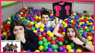 Last To Leave Ball Pit Challenge With Temptations That YouTub3 Family I Family Channel