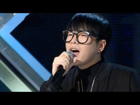 Jung Jin Woo, written song 'Rich Song' 정진우 - 유복하게 살았는데《KPOP STAR 5》K팝스타5 EP10