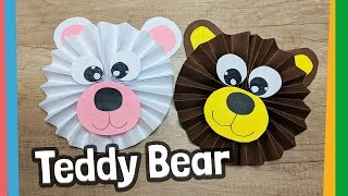 Cute Teddy Bear Craft For Kids