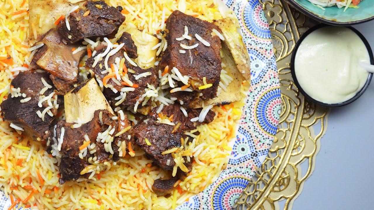 Beef Mandi recipe | ഹോട്ടലുകളിൽ ട്രെൻഡ് ആയ ബീഫ് മന്തി | beef meat mandi recipe malayalam | لحم مندي