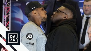 Joshua vs. Miller London Press Conference