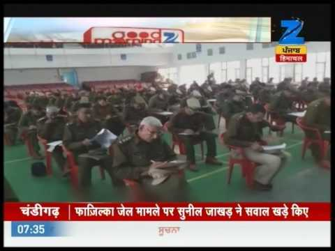 Superintendent of Police in Jhajjar conducts exam for their proficiency