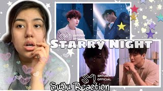 "Reacting to ""ZHOUMI 'Starry Night (With RYEOWOOK)' (Korean & Chinese Ver.) Special Video"" 🌌"