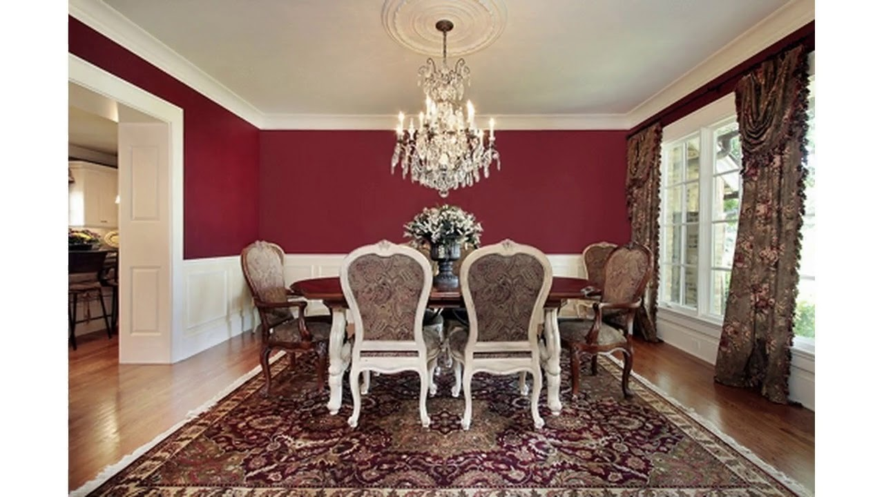 Red Dining Room Decor Ideas Youtube