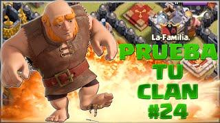 PRUEBA TU CLAN #24 - LA-FAMILIA - A por todas con Clash of Clans - Español - CoC