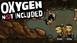 Oxygen Not Included - Digging Into The Vacuum! (Let