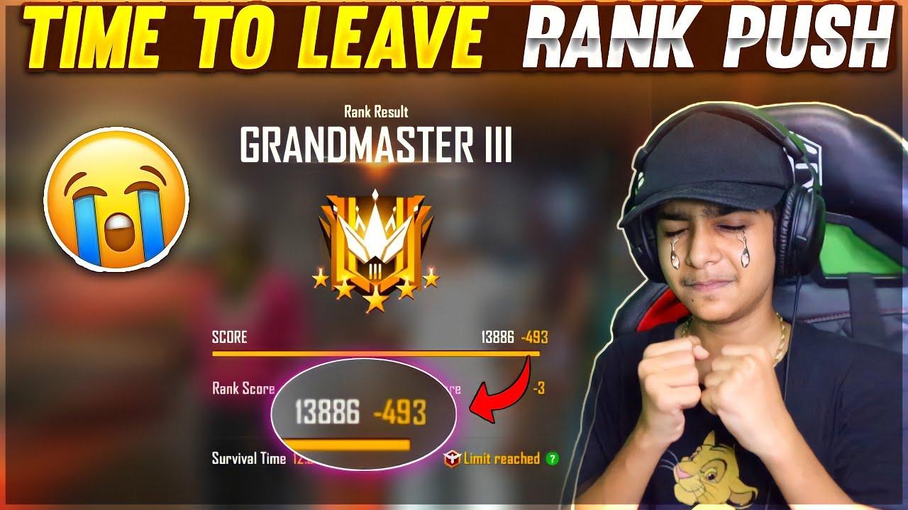 अब हद हो गयी यार 🤬 !! - Total 408 Minus Grandmaster 13000 + Lobby Highest Ever😥 - Garena Free Fire