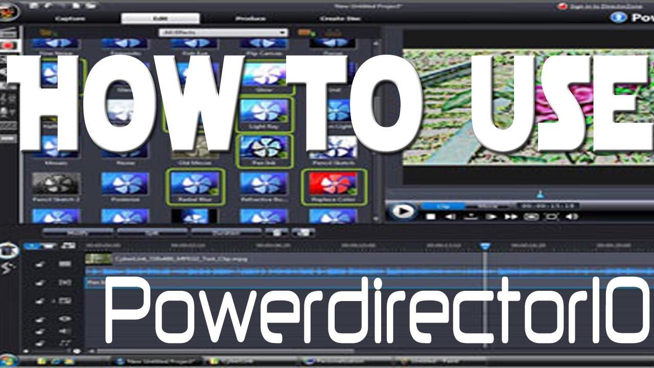 how to use cyberlink powerdirector 10 youtube rh youtube com cyberlink powerdirector 10 user manual cyberlink powerdirector 10 user manual