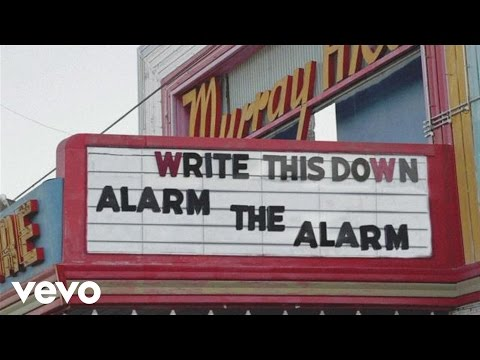 Write This Down - Alarm The Alarm