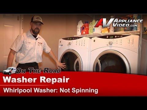 ge washing machine not draining