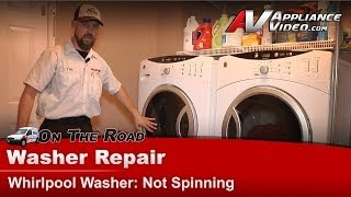 Ge, Hotpoint & RCA Washer Repair & Diagnostic- Not Draining Pr…