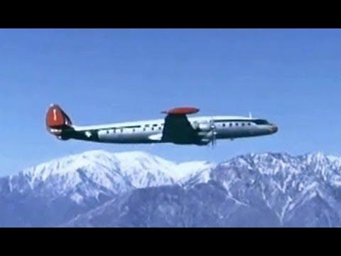 Northwest Orient Lockheed L-1049 Super Constellation - 1955