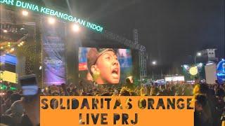 Gondal gandul Solidaritas orange 6 - Live PRJ kemayoran