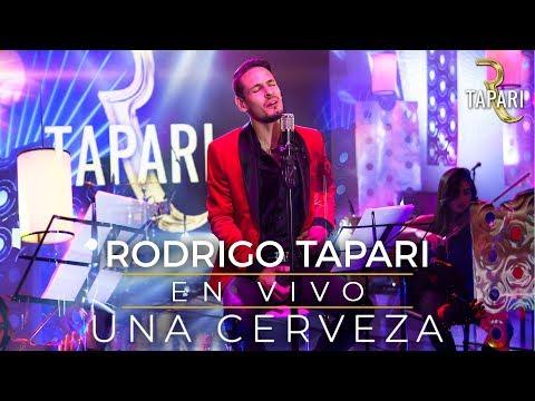Rodrigo Tapari - Una Cerveza (En Vivo)