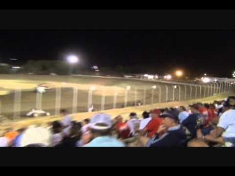 USAC Sprints U  S  36 Raceway Levi Jones Wins Video