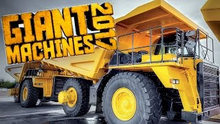 IT'S VERY BIG! | Giant Machines 2017