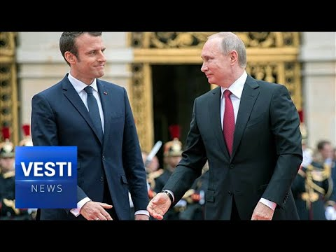 Tolstoy Quotes and Proclamations of Friendship: Macron's Russia Visit Leaves Dazzling Impression