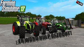 "{NL} ''ER WORD HULP GEZOCHT!"" Farming Smulator 17 Thornton {G29}"