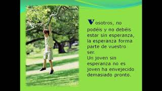 "P04 / 12/11/17 / 7/9 - ""Joven con esperanza"""