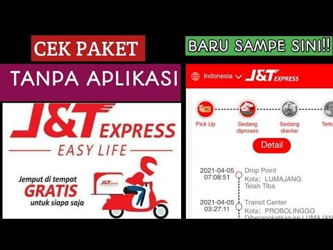 Cara Lacak paket j&t express