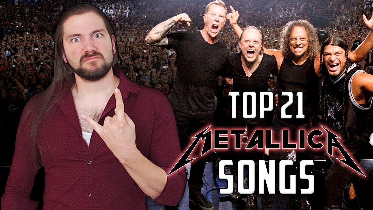 Top 21 METALLICA Songs   Mike The Music Snob