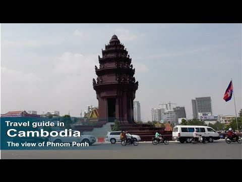 The view of Phnom Penh City - Travel guide in Cambodia | How to travel cambodia.