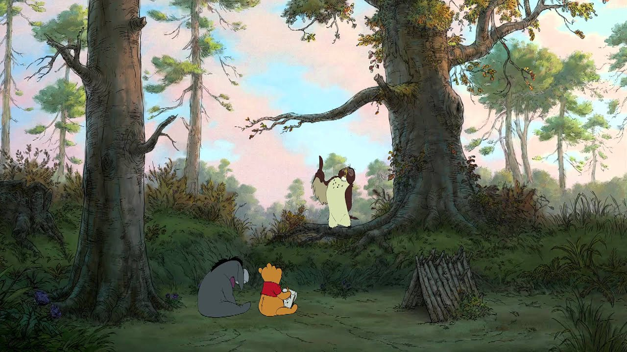 Winnie The Pooh Forest Background: Winnie The Pooh Official Trailer