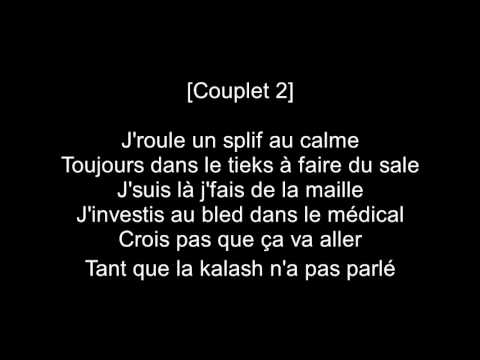 Damso  -  Kin La belle  ( Paroles )