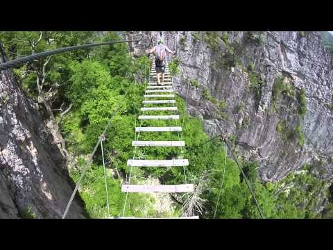 Nelson Rocks Via Ferrata 2014
