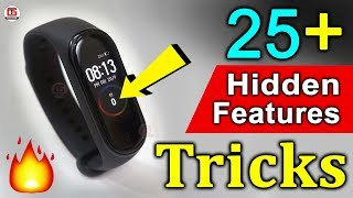 Mi Band 4 Hidden Features in Hindi 🔥🔥 Mi Band 4 Tips and Tricks in Hindi | Watch Faces & Music