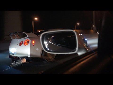 Bolt-On GT-R vs RHD Toyota Supra $2,500 (Roll Race)