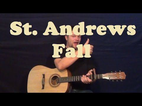 St. Andrews Fall (Blind Melon) Guitar Lesson Easy Strum Chords How ...