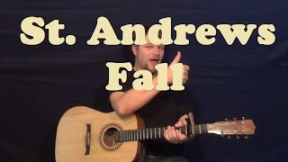 St. Andrews Fall (Blind Melon) Guitar Lesson Easy Strum Chords How to Play Tutorial Lesson