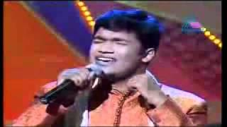 Vivekanand Idea Star SInger 2008 (Old Hindi Songs Round)- Teri Tasveer ko