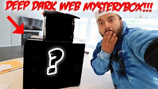 OPENING A SUSPICIOUS BOX LIVE!! Someone sent me A DEEP DARK WEB MYSTERY BOX & WANT ME TO OPEN LIVE?