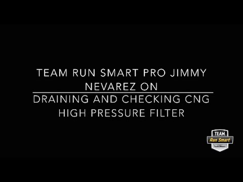 How to Drain Your CNG High Pressure Filter