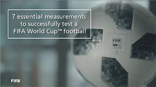 7 essential measurements to test a fifa world cup football
