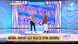 Antonia, gravida pentru a patra oara Alex Velea da cartile pe fata &quotSa mai faca si alt ...