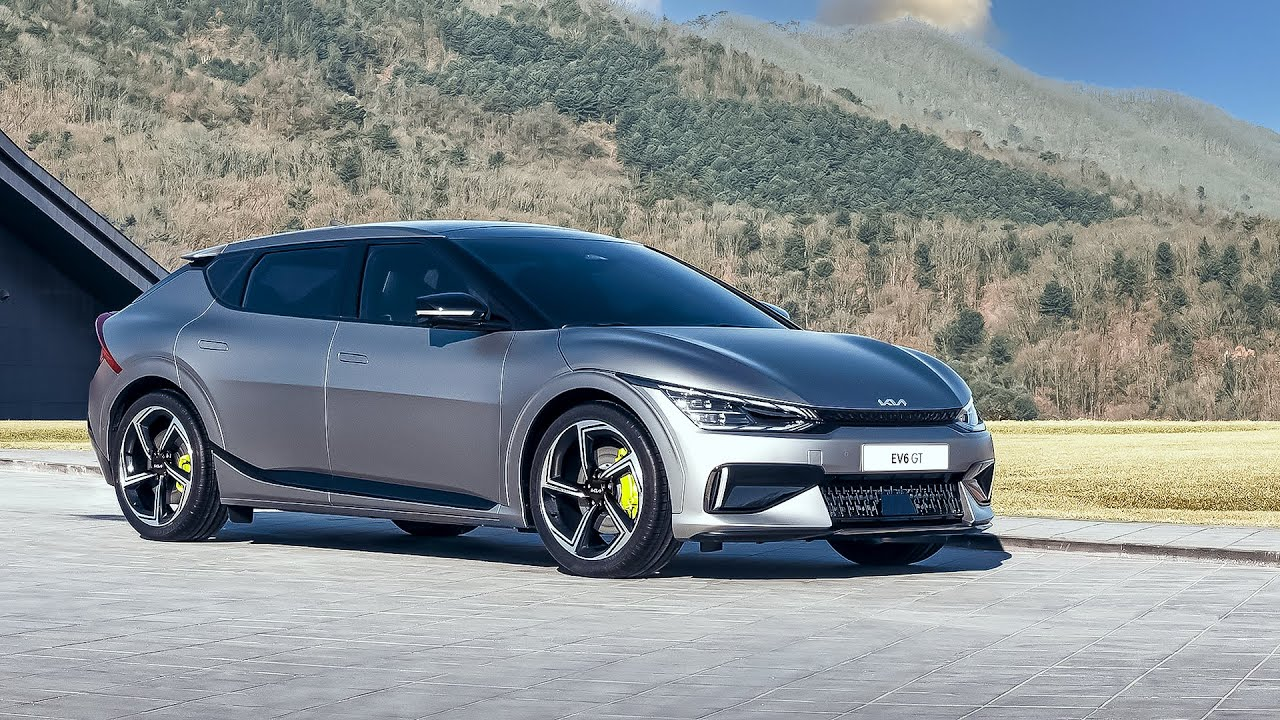 Kia EV6 GT (2022) High-Performance Electric Car | Full Details | Drag Race, Features and Interior