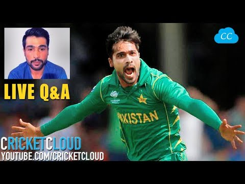 Mohammad Amir Interview LIVE Q&A -  Listen His Comments On KOHLI & DHONI !!