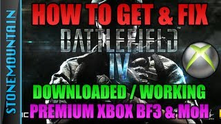 Hows to Download Battlefield 4 Beta (BF4) XBOX 360 - Not on Dashboard/Problems/Not working PS3